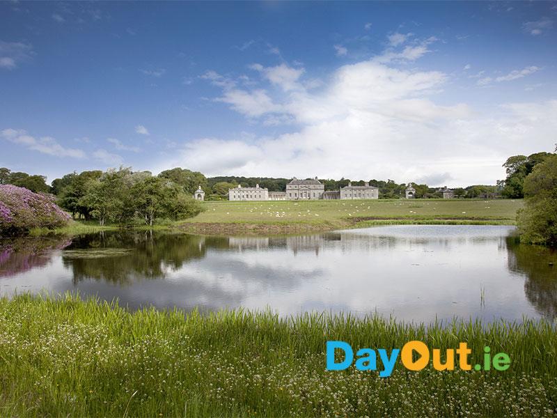 Russborough-House-across-Lake