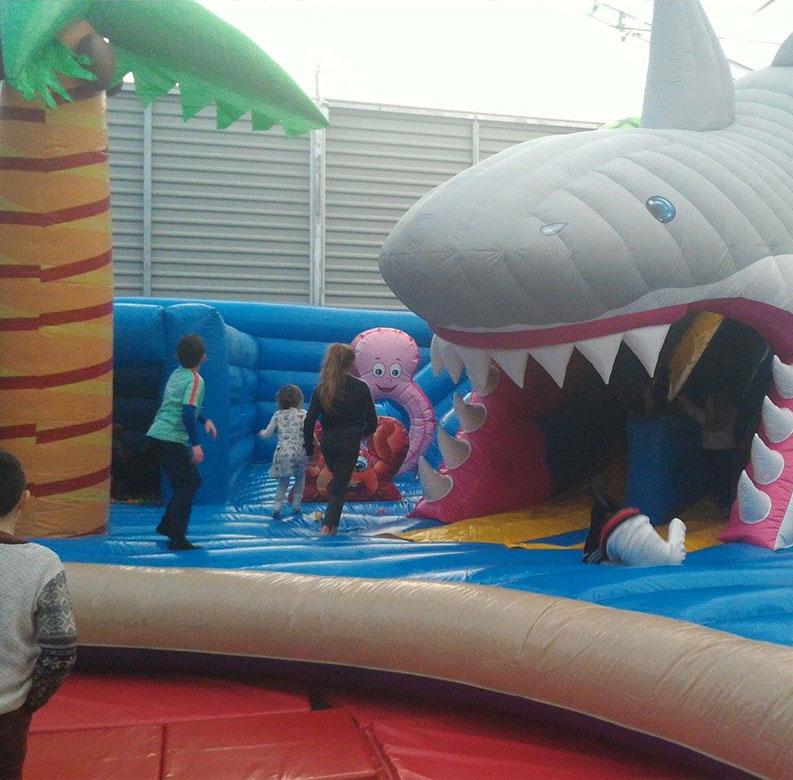 Inflatable-Shark-Fun-Celbridge-Football-Park