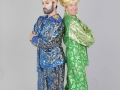 Brian-Dowling-as-the-Genie-and-Alan-Hughes-as-Sammy-Sausages-in-The-Cheerios-Panto-Aladdin-at-the-Tivoli-Theatre-photo-Leon-Farrell
