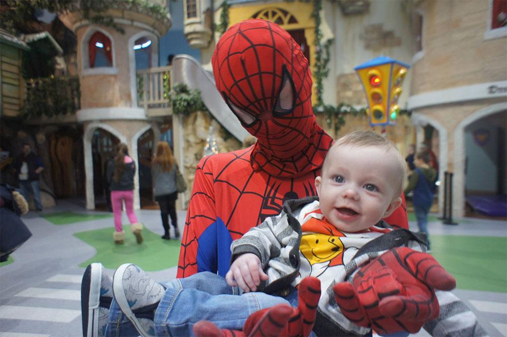 Dreamland-Fun-Centre-Limerick-Spiderman