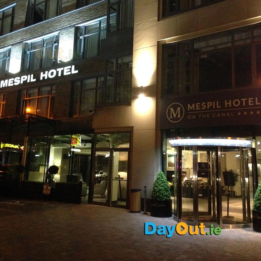 Mespil-Hotel-Dublin-Exterior-Night