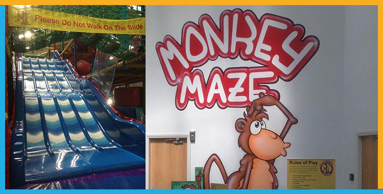 Monkey Maze Activity Centre