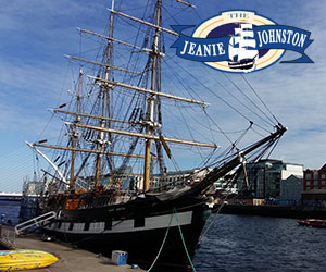 jeanie johnston ship dublin